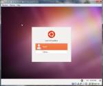Ubuntu Login Page