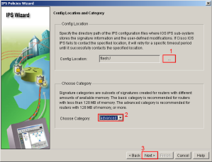 SDM IPS Wizard Config Location