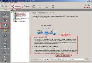 SDM VPN Page