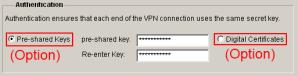SDM VPN Wizard Auth