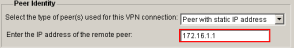 VPN Wizard Peer