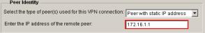 VPN Wizard Peer