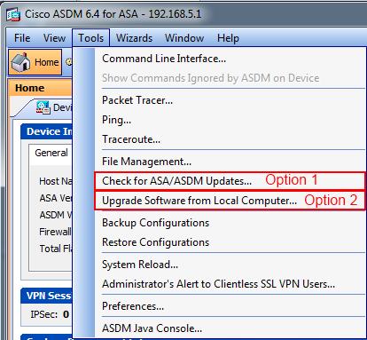 Upgrade ASA IOS via ASDM – Cisco Skills