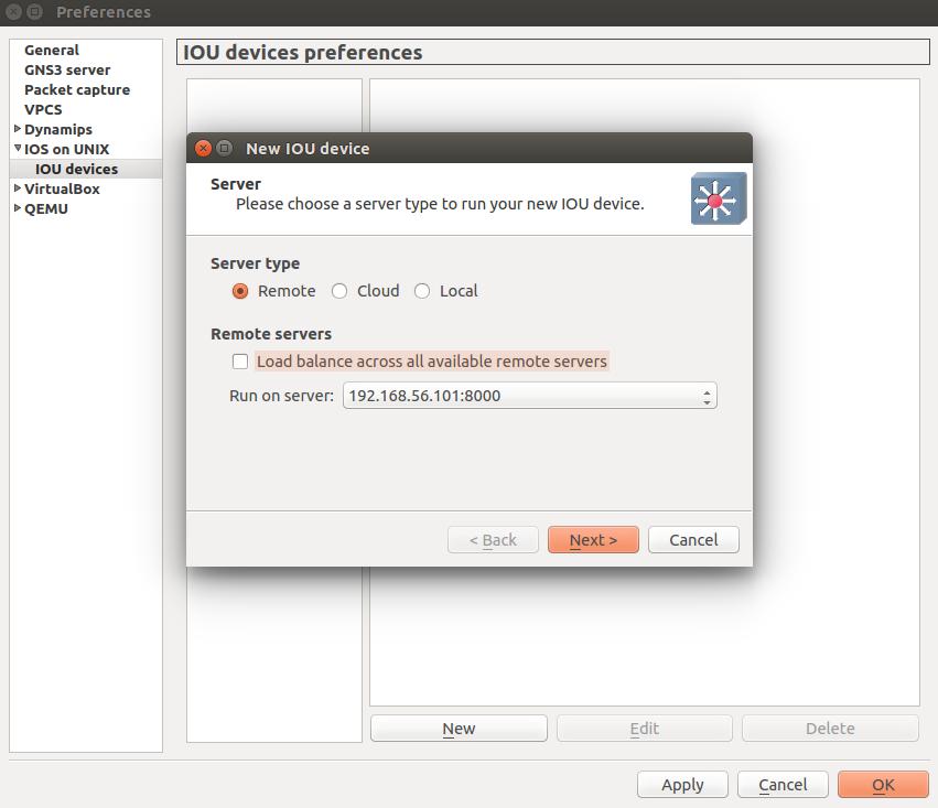 Setting up GNS3 1 1 on Ubuntu – Cisco Skills