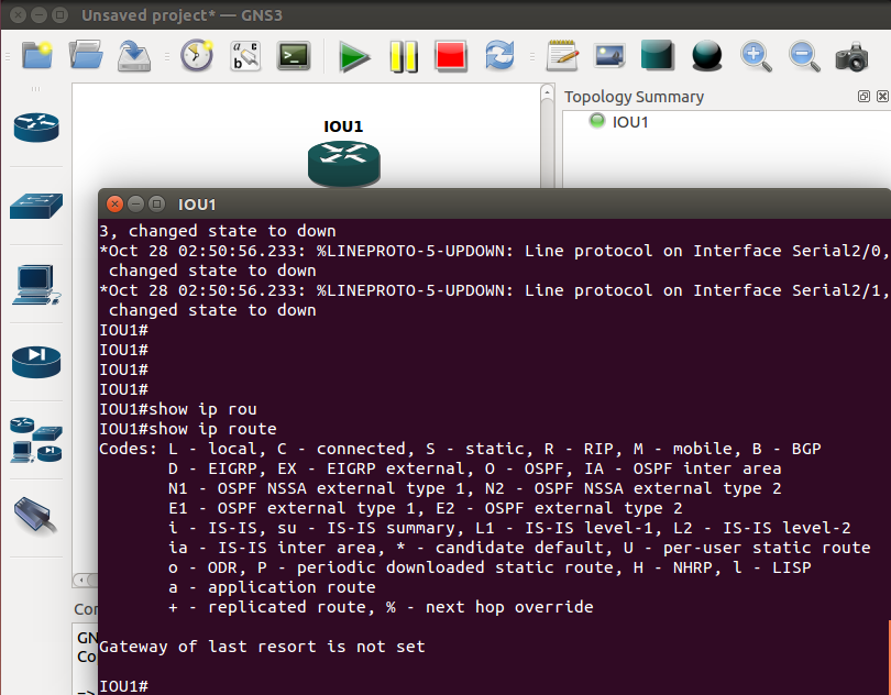 Setting up GNS3 1 1 on Ubuntu – Cisco Skills